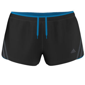 Adidas Women's Super Nova Glide Short - Black/Solar Blue