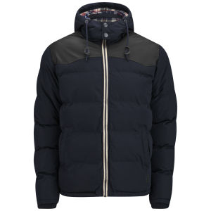 Soul Star Men's Swoosh Jacket - Navy