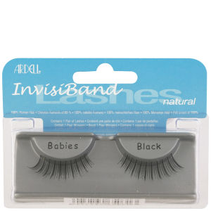 Ardell Invisiband Lashes Black - Babies