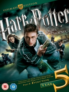 Harry Potter and the Order of the Phoenix: Ultimate Collector's Edition - Double Play (Blu-Ray and DVD)