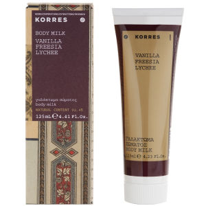 Korres Vanille, Freesia And Lychee Body Lotion 125ml