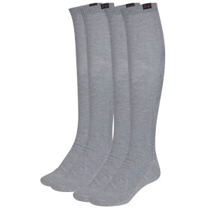 Pineapple Womens Knee High Socks - Grey