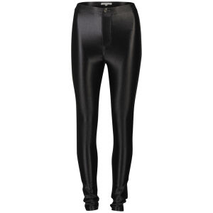 Glamorous Women's High Waisted Disco Pants - Black