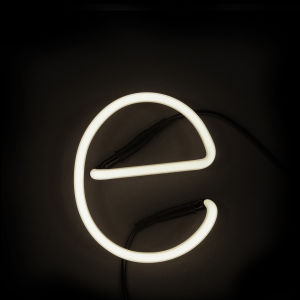 Seletti Neon Wall Light - Letter E