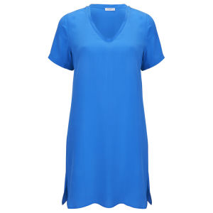Equipment Women's Grayson Dress - Klein Blue