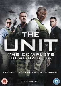 The Unit Season 1-4 Box Set