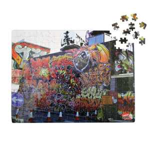 London Graffiti Jigsaw Puzzle