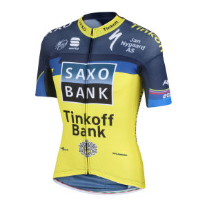 Saxo Bank Tinkoff Bank Team Summer Race Ss Jersey - 2013
