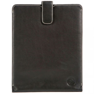 dbramante1928 Slip Leder Hülle für iPad, Smooth Black