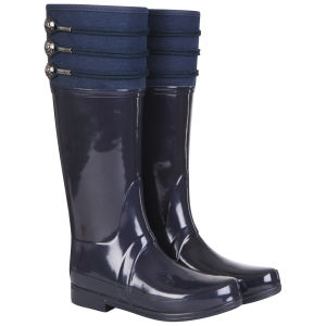 Hunter Women's Regent Earlton Wellington Boots - Navy