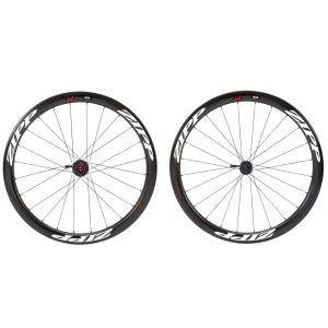 Zipp 303 Firecrest Tubular Disc Brake Front Wheel 18 Spokes - White Decal
