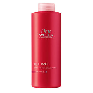Champú cabello fino/normal teñido Wella Professsionals Brilliance (1000ml)