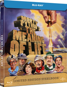 Monty Python's The Meaning Of Life - Zavvi Exclusive Limited Edition Steelbook