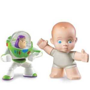 Toy Story 3: Buddy Pack Communicator Buzz Lightyear and Big Baby