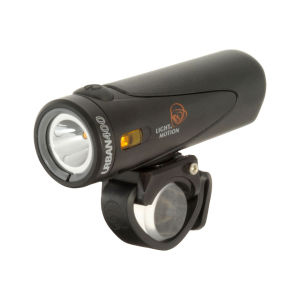 Light and Motion Urban 400 Coal Front Cycle Light