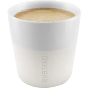 Eva Solo 80ml Espresso Tumbler - Set of 2 - Ivory White