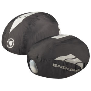 Endura Luminite Helmet Cover - Black/Reflective
