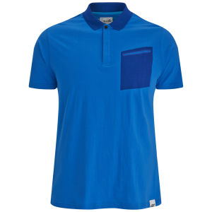 Boxfresh Men's Kebbie Tech Pocket Polo - Brilliant Blue