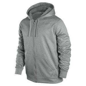 Nike Men's KO Full Zip Hoody 2.0 - Grey