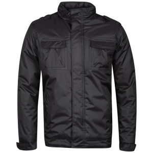 Brave Soul Men's Equipment Jacket  - Charcoal