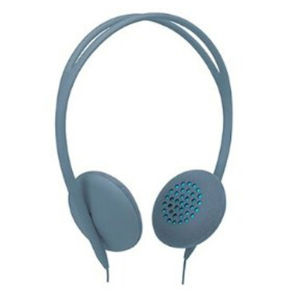Pivot: On-Ear Lite Headphones - Dove/ Blue