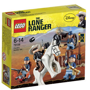LEGO The Lone Ranger: Cavalry Builder Set (79106)