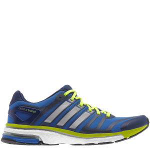 Adidas Men's Adistar Boost Running Shoe - Blue Beauty/Tech Silver Met/Electricity