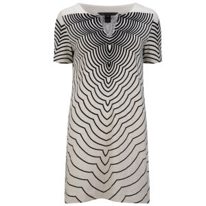 Marc by Marc Jacobs Women's Hiro Split Front Dress - Agave Nectar Multi