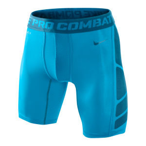 Nike Men's Hypercool Compression 6 Inch Shorts 2.0 - Vivid Blue