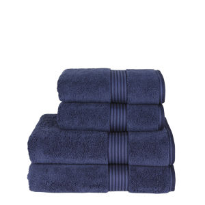 Christy Supreme Hygro Towels - Midnight Blue
