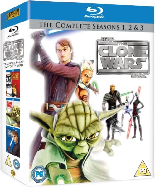 Star Wars The Clone Wars Season One Bluray