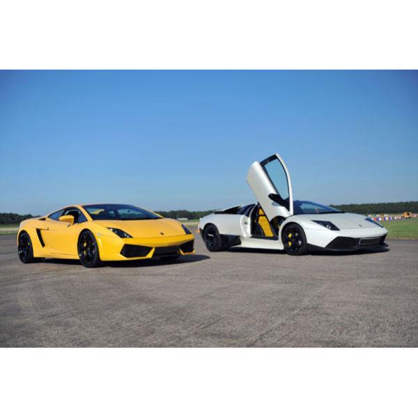Lamborghini Driving Experience: Ultimate Triple Lamborghini Driving Experience Experience