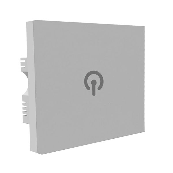 smart sensor energy egg single light switch white free. Black Bedroom Furniture Sets. Home Design Ideas