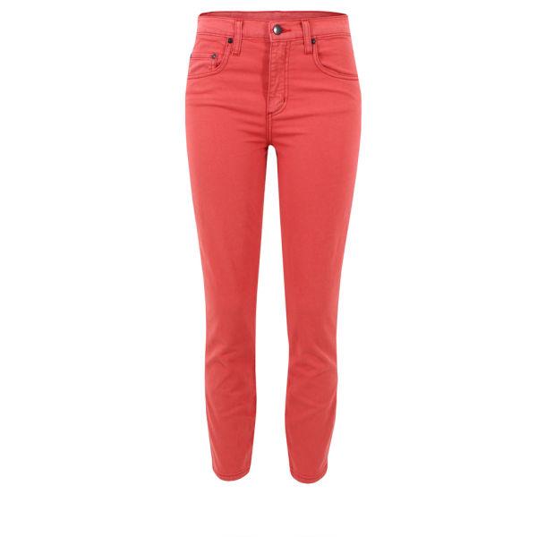 Nobody Women's Cult Crop Skinny Jeans - Hellion