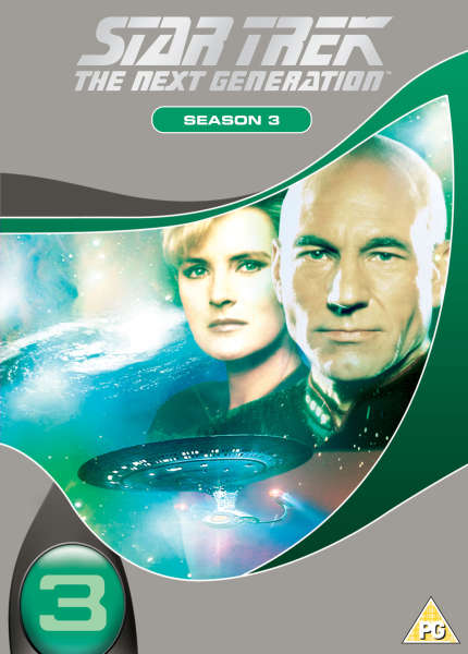 Star Trek The Next Generation Season 3 Slim Box Dvd