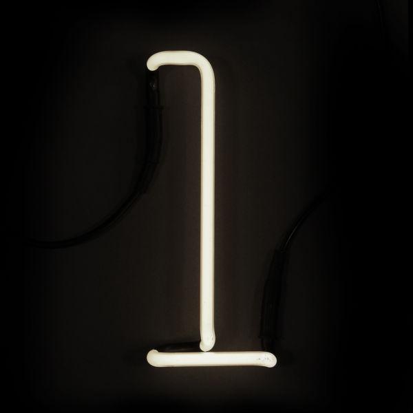 Seletti Neon Wall Light - Letter L