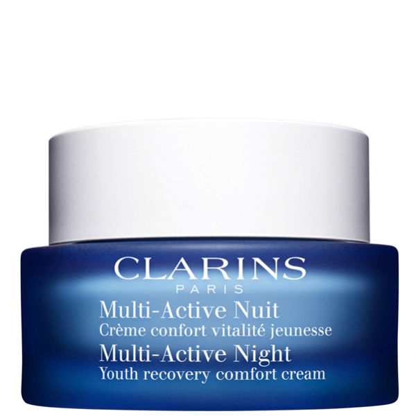 Clarins Multi-Active Night - Youth Recovery Comfort Cream (50ml)   Free Shipping   Lookfantastic