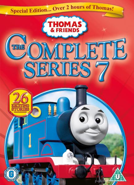 Thomas And Friends Complete Series 7 Dvd Zavvi Com