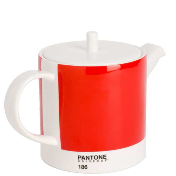 Pantone Universe Teapot - Ketchup Red 186