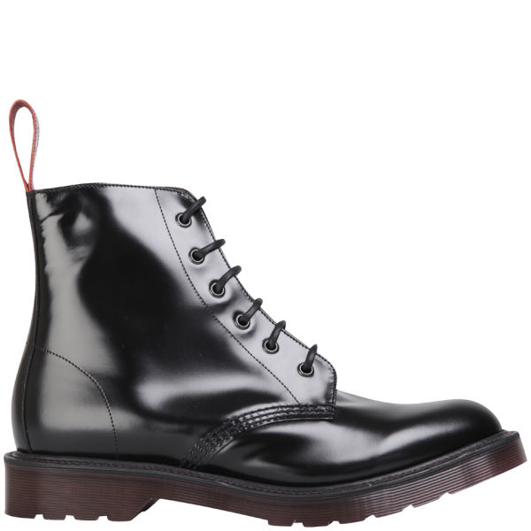 Dr. Martens Made in England Men's Pietro Leather Low Boots