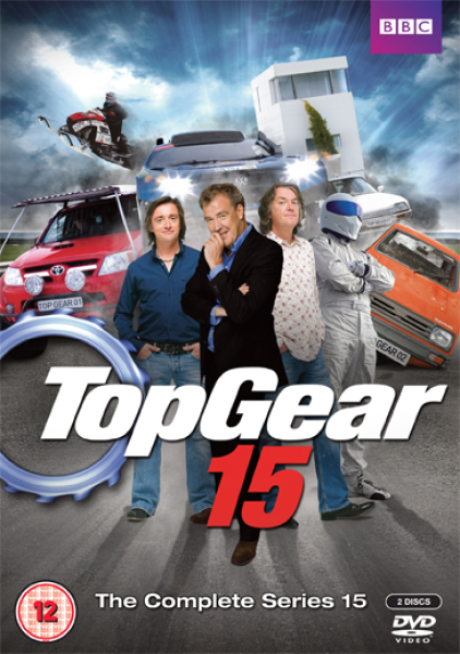 Build A Toyota >> Top Gear - Series 15 DVD | Zavvi