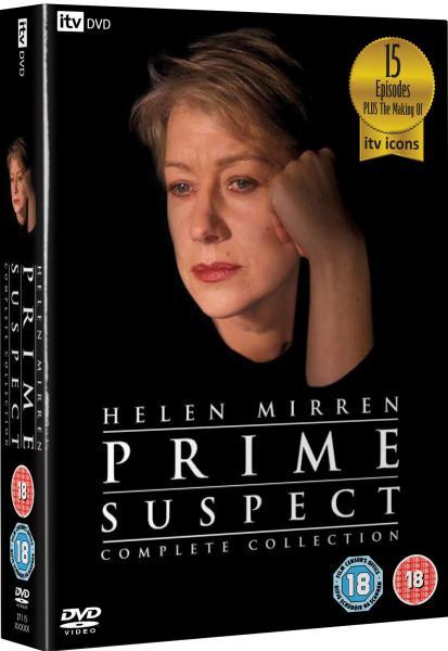 Prime Suspect Compete Collection Box Set Dvd Zavvi
