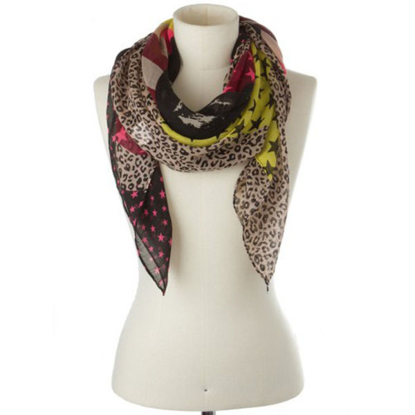 codello circus patched designs scarf