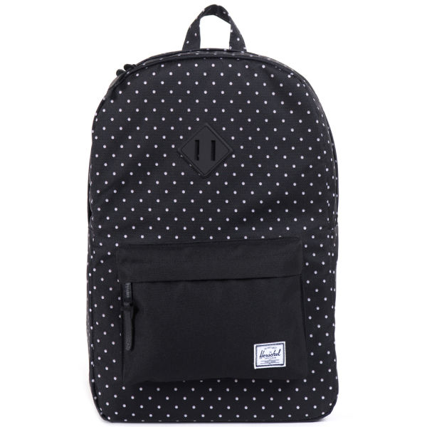 Herschel Supply Co. Heritage Polkadot Backpack - Black