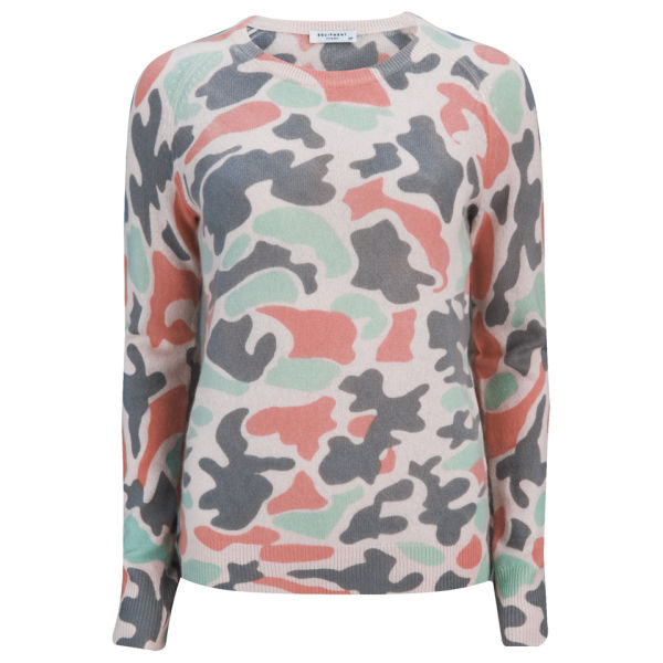 Equipment Women's Sloane Crew Neck Jumper - Ivory Multi