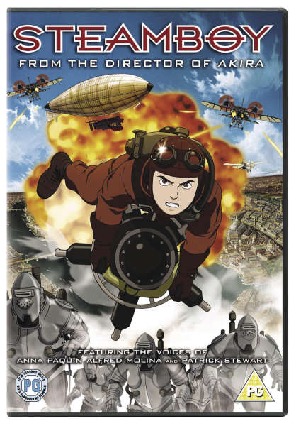 Steamboy Dvd Zavvi