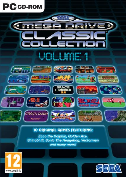 Sega Mega Drive Classic Collection Volume 1 Pc Zavvi