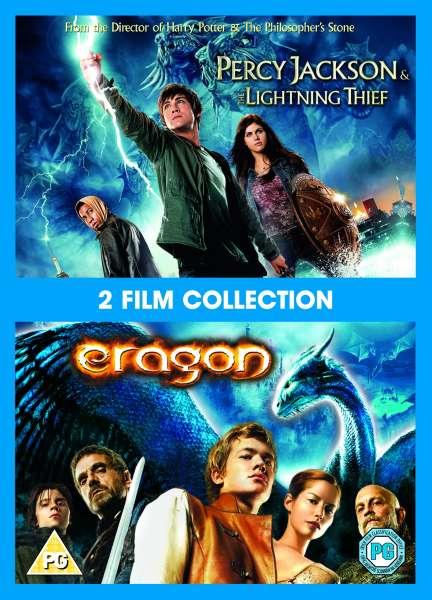 Percy Jackson And The Lightning Thief Eragon Dvd Zavvi Com