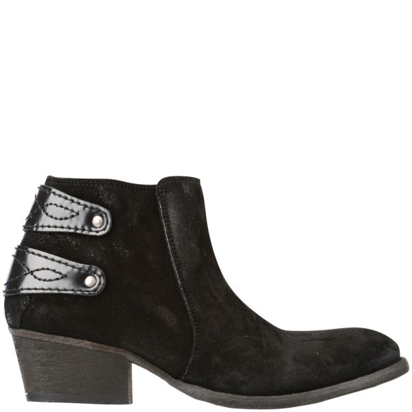 H Shoes by Hudson Women's Rosse Suede Ankle Boots - Black