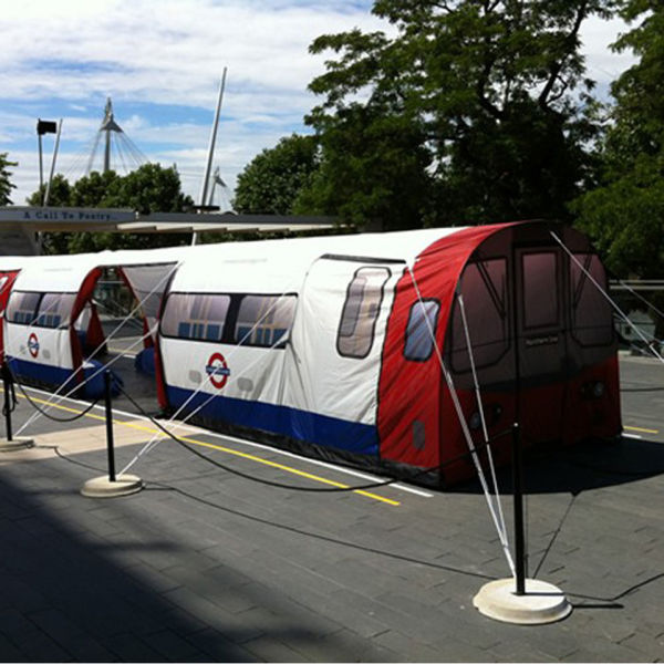 London Underground Tube 20 Person Tent Gifts Zavvi
